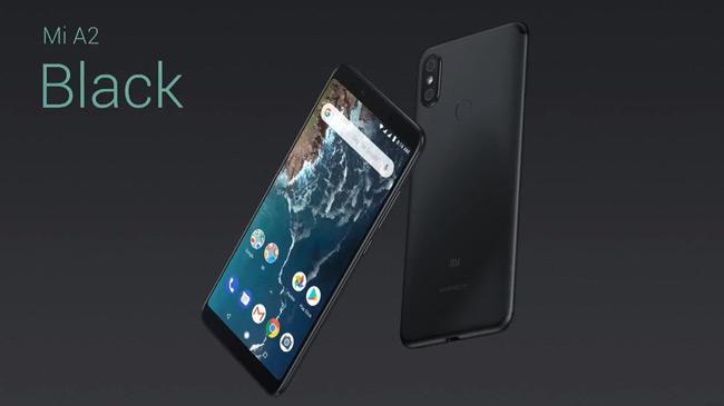 Xiaomi Mi A2 zwart
