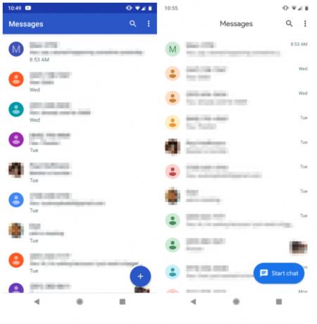 Android Berichten 3.5