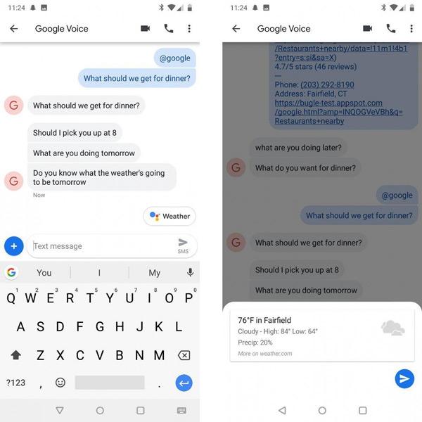Android Berichten Assistent