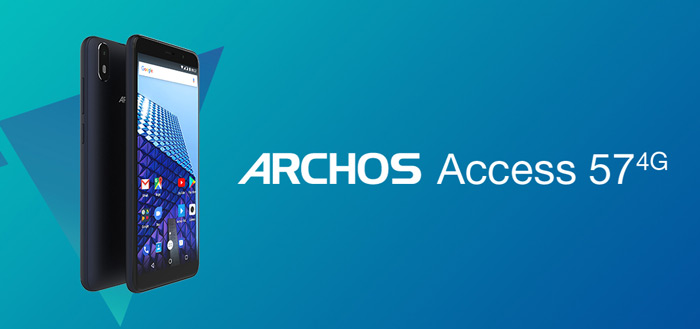 Archos Access 57 met nette specs en Android Go aangekondigd voor 80 euro