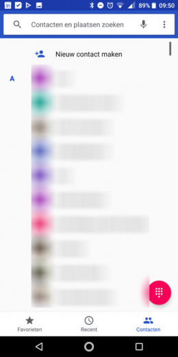 Google Telefoon app