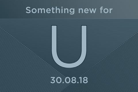 HTC U 30 augustus