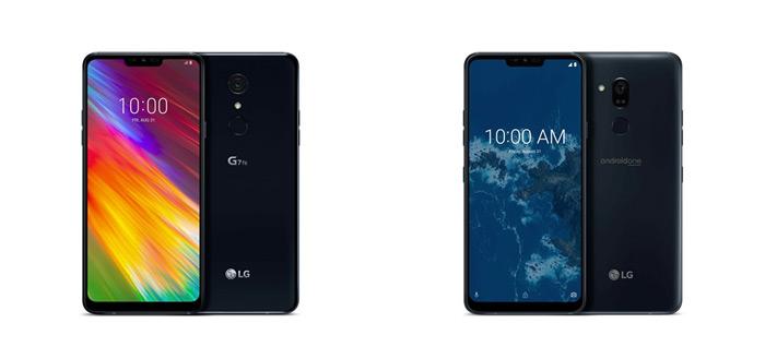 LG G7 One met Android One en G7 Fit officieel aangekondigd