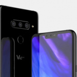 Nieuwe LG V40 renders tonen design met notch en triple-camera