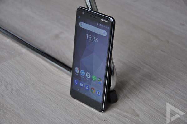 Nokia 3.1 test
