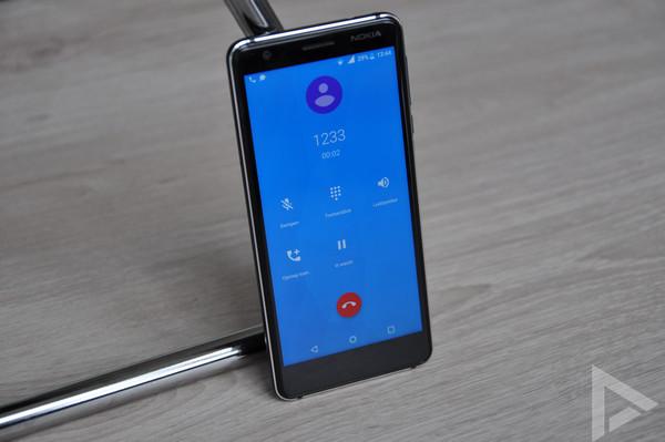 Nokia 3.1 bellen