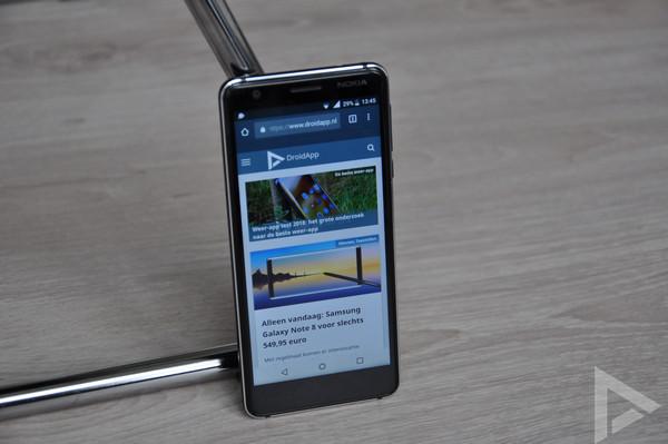 Nokia 3.1 internet