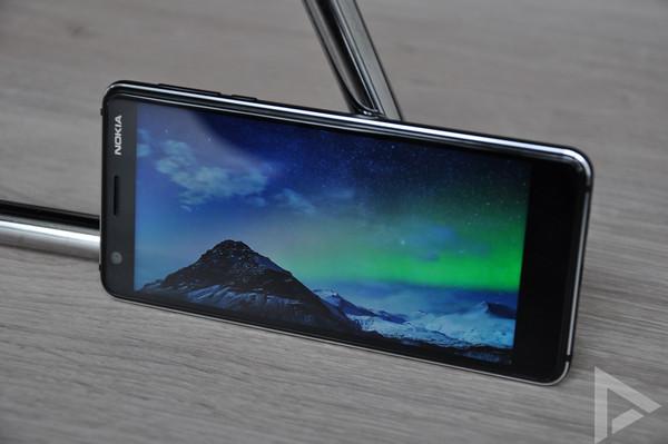 Nokia 3.1 scherm