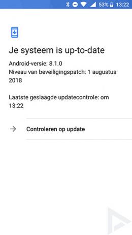 Nokia 6 beveiligingsupdate augustus 2018