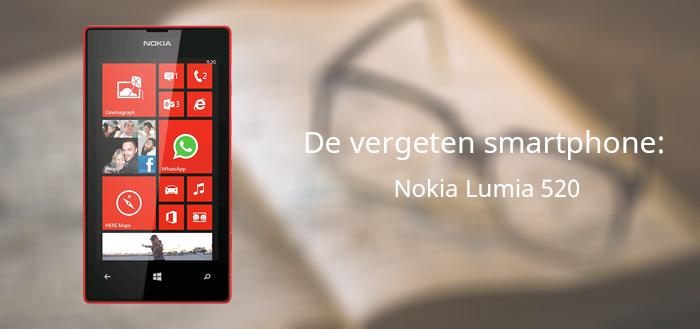 De vergeten smartphone: Nokia Lumia 520