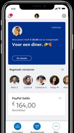 PayPal App design