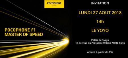 Pocophone F1 Europa aankondiging
