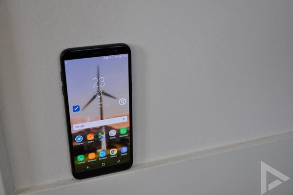 Samsung Galaxy J6 scherm