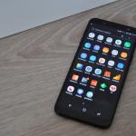 Samsung Galaxy J6 menu