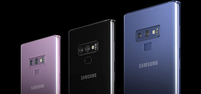 Samsung werkt aan Galaxy Note 9 in kleur 'White'