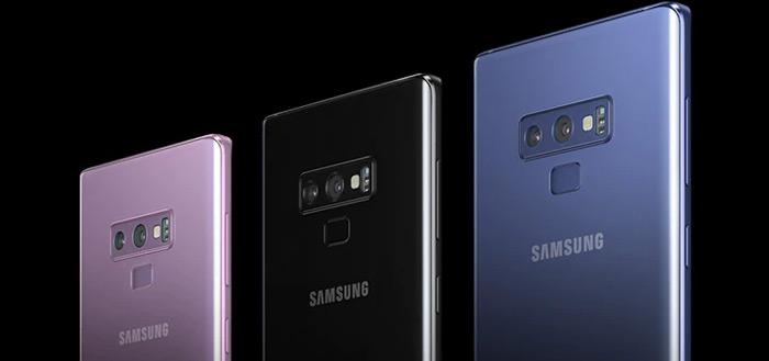 Samsung Galaxy Note 9 ontvangt grote camera-update
