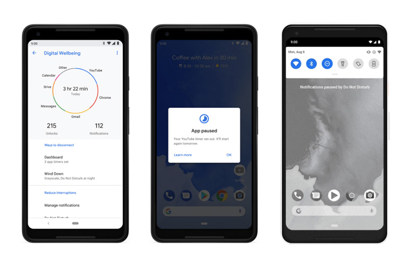 Android 9.0 Pie Digital Wellbeing