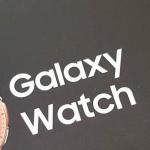 Samsung Galaxy Watch vanaf vandaag verkrijgbaar in Nederland