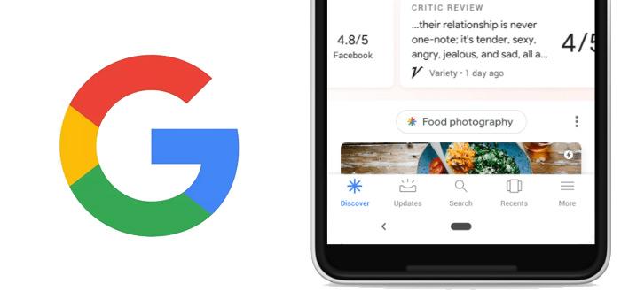 Google Discover: opvolger van Now en Feed uitgebreid met nieuwe functies