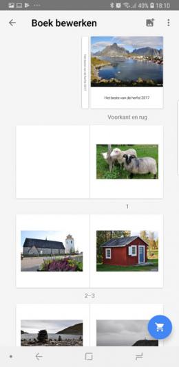 Google Foto's fotoboek
