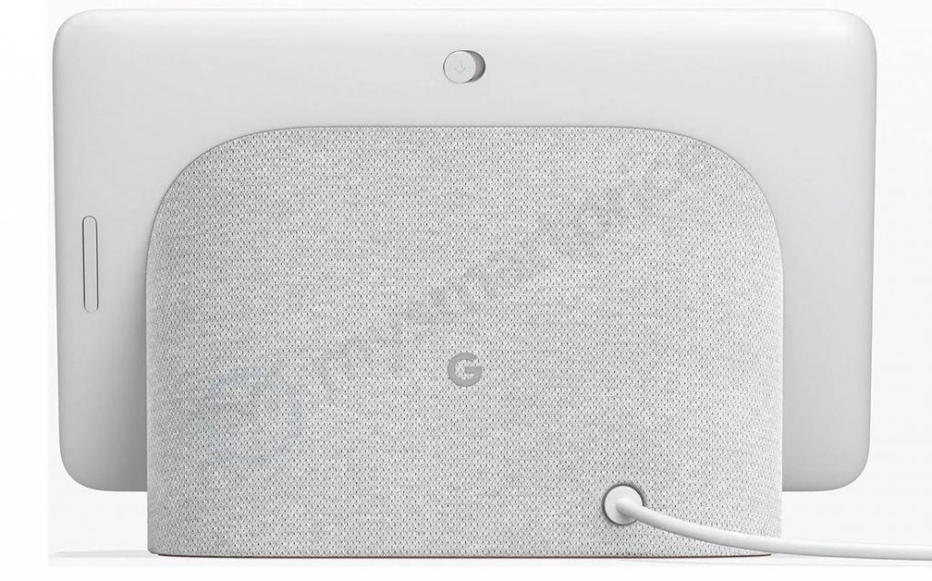 Google Home Hub achterkant