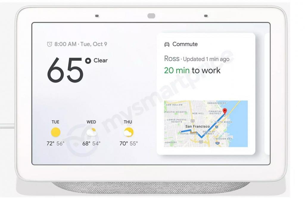 Google Home Hub voorkant