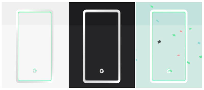 Google Pixel 3 kleuren