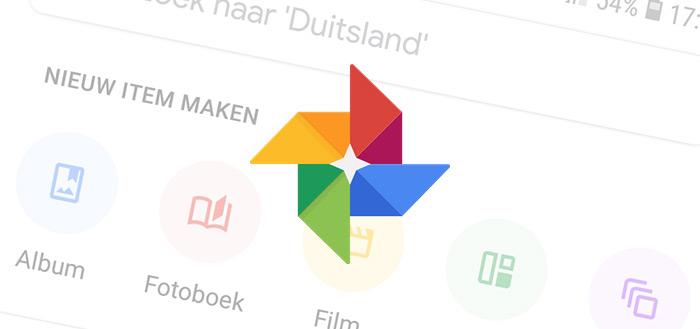 Google Foto's 4.0 brengt het vernieuwde Material Design