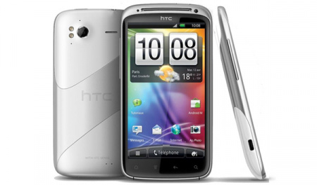 HTC Sensation Ice Silver