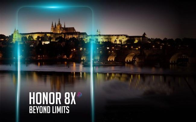 Honor 8X 11 oktober Praag