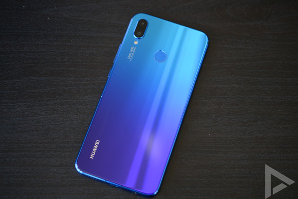 Huawei P Smart Plus achterkant