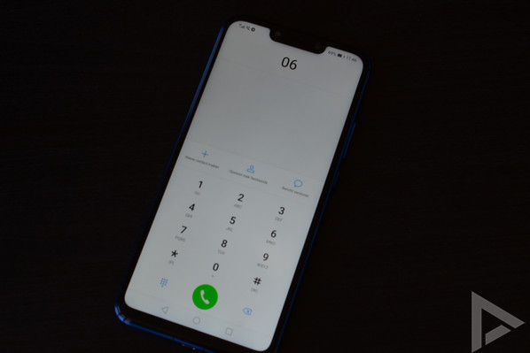 Huawei P Smart Plus dialer