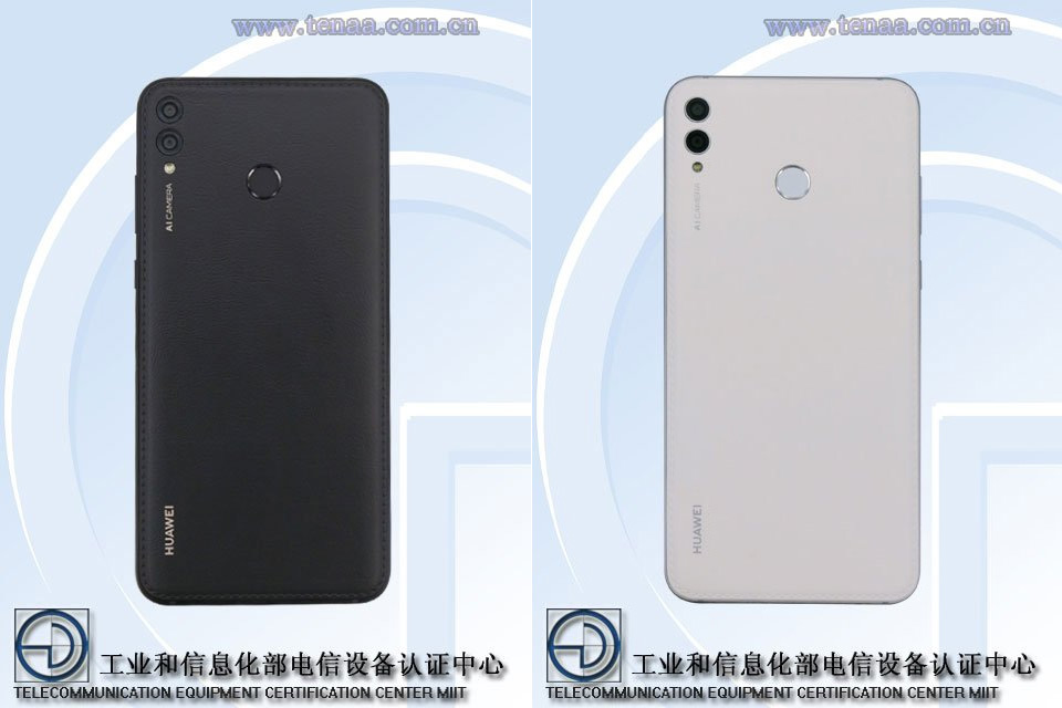 Huawei leren achterkant