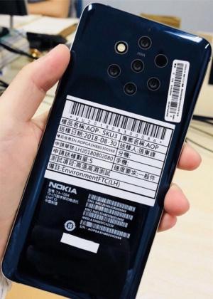 Nokia 9 5 camera's