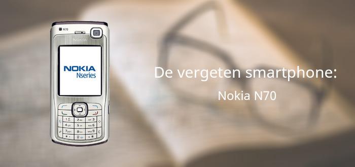 De vergeten smartphone: Nokia N70