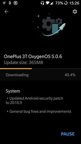 OnePlus 3 3T september