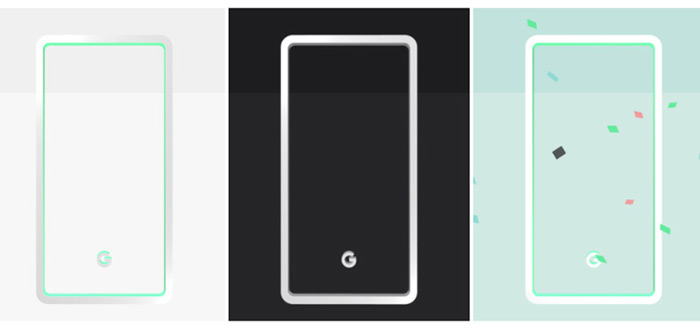 Google Pixel Stand gelekt, samen met nieuwe wallpapers