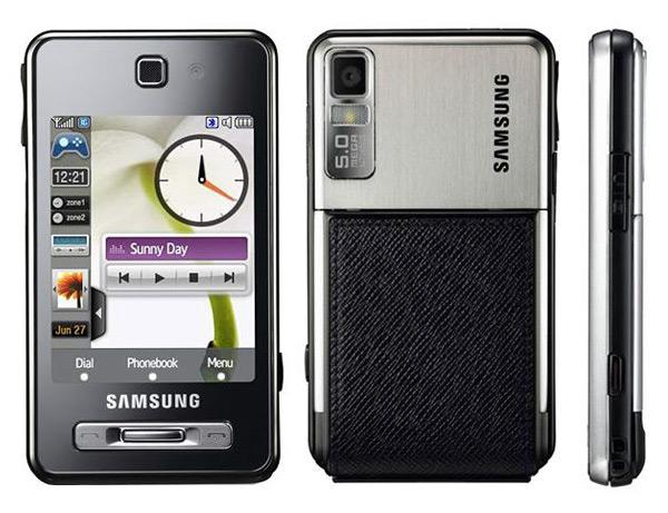 Samsung F480 TouchWiz leer