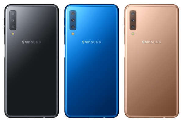 Samsung Galaxy A7 Android Pie
