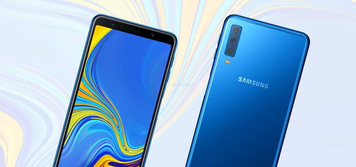 Samsung Galaxy A7 (2018) krijgt beveiligingsupdate april 2019 uitgerold