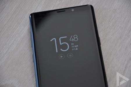 Samsung Galaxy Note 9 always on display