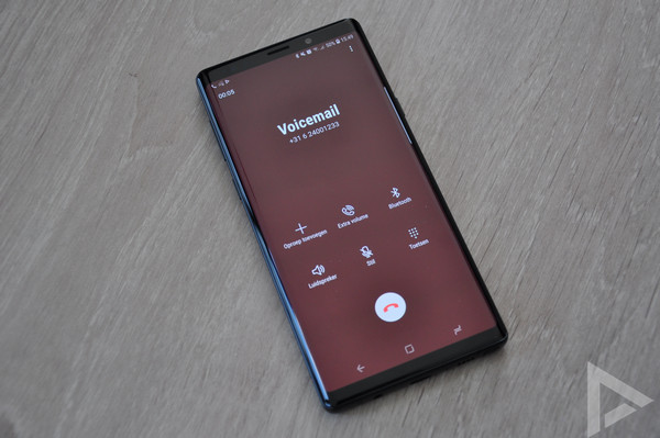 Samsung Galaxy Note 9 bellen