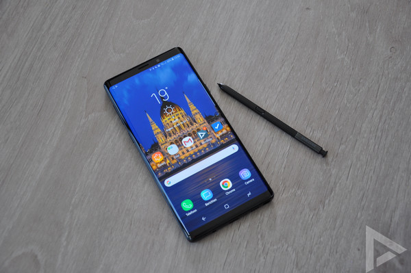 Samsung Galaxy Note 9 design