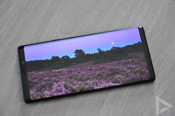 Samsung Galaxy Note 9 display