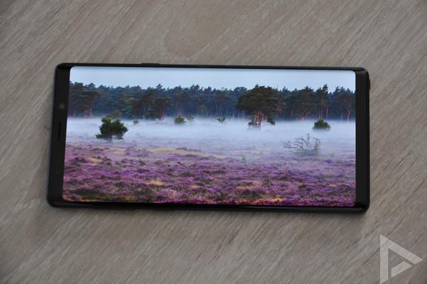 Samsung Galaxy Note 9 beeldscherm