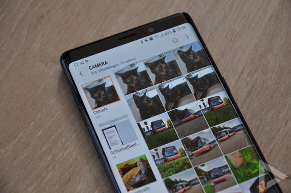 Samsung Galaxy Note 9 galerij