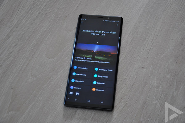 Samsung Galaxy Note 9 Bixby