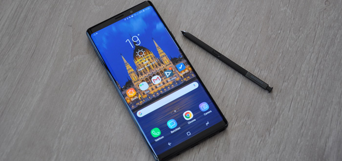 Samsung Galaxy Note 9: Android 9 Pie update bereikt Nederland