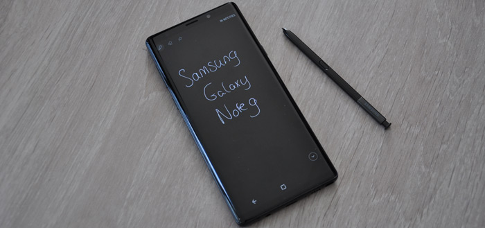Samsung Galaxy Note 9 review: waanzinnig toestel zonder concessies