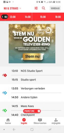 TVgids.nl app nu straks